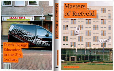 Masters of Rietveld, design by Coralie Vogelaar, 2008