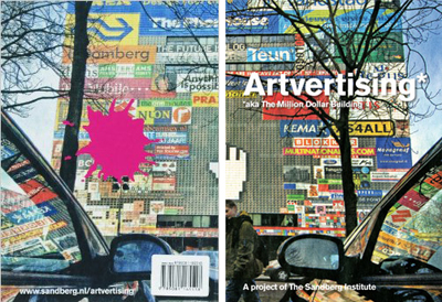 Artvertising by Mieke Gerritzen, Teun Castelein and others, All Media 2007
