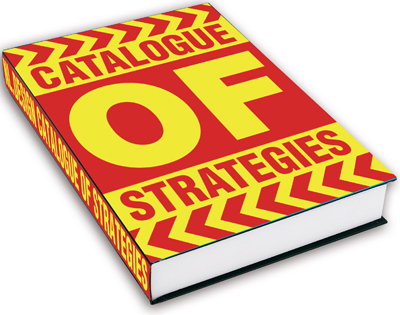 Cover Catalogue of Strategies, 2001