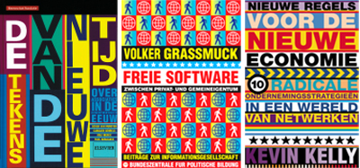 Covers for Berenschot, Volker Grassmuck and Kevin Kelly